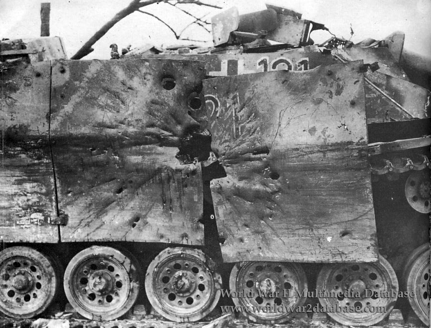sturmgeschutz iii knocked out by the 4th armored division the